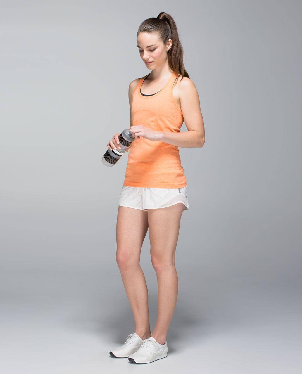 Lululemon Run:  Swiftly Tech Racerback - Heathered Creamsicle Pop