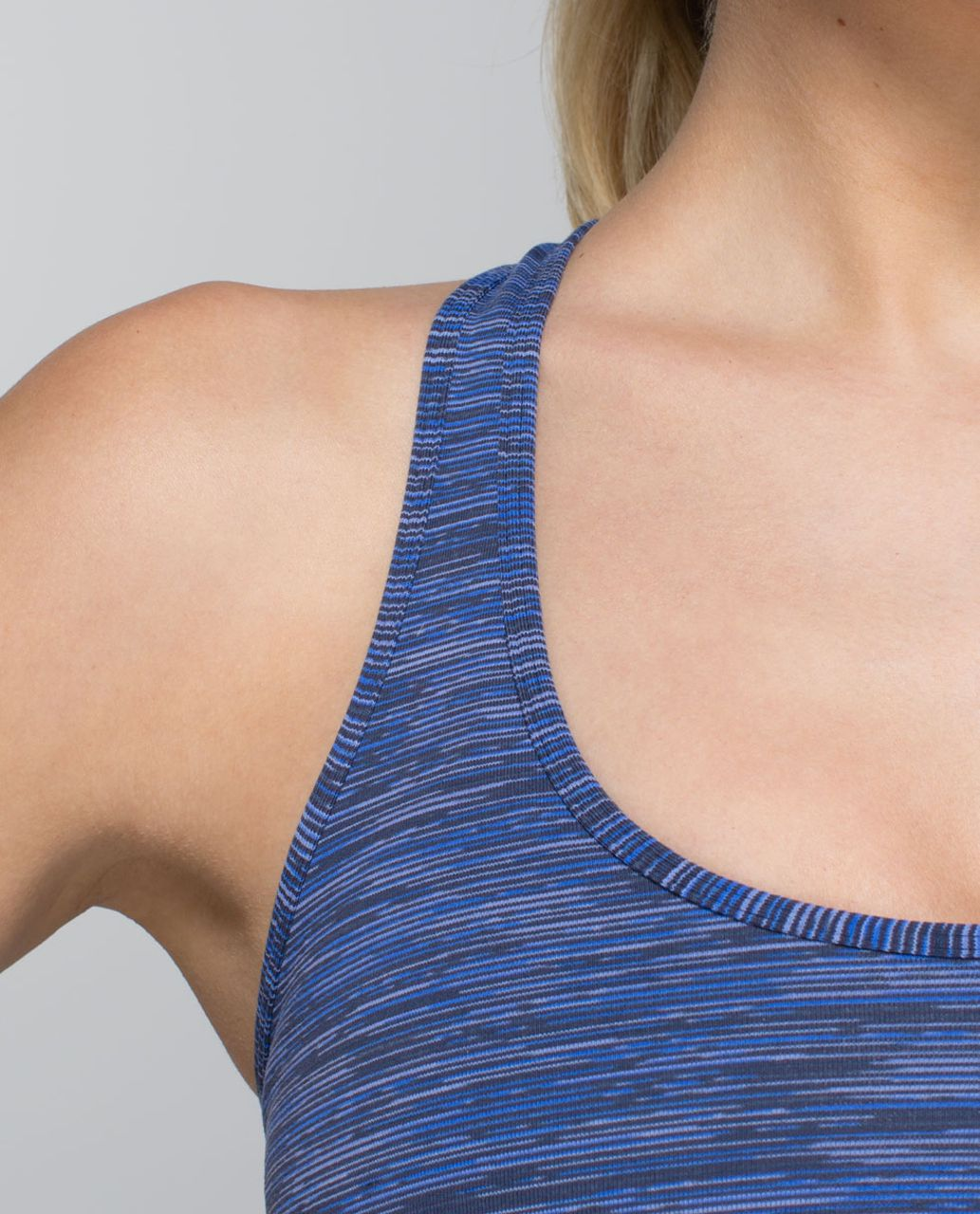 Lululemon Cool Racerback - Wee Are From Space Cadet Blue