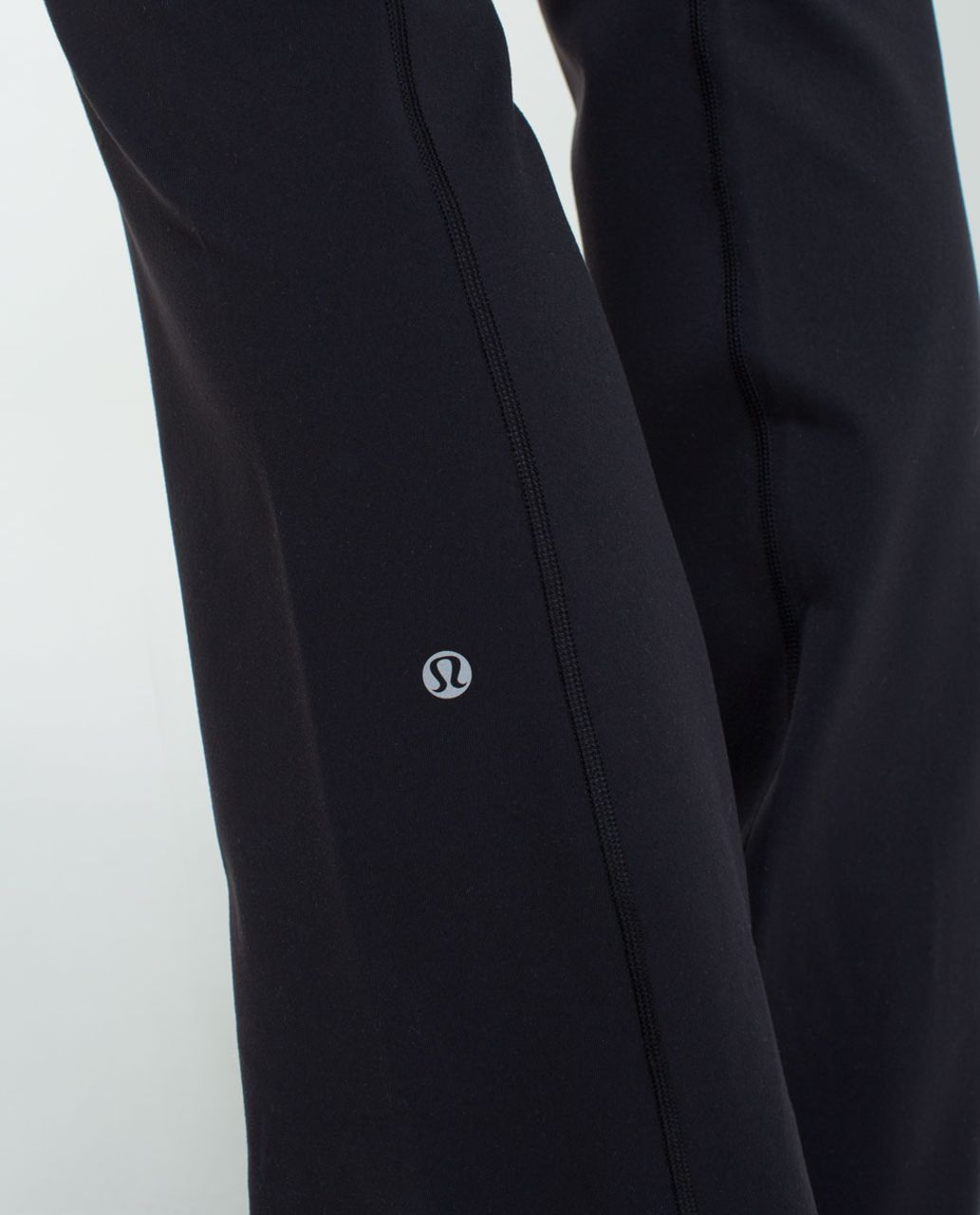 Lululemon Groove Pant (Tall) *Full-On Luon - Black / Quilt Spring 14-10