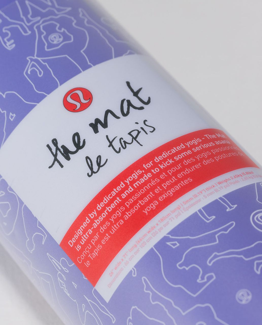 Lululemon The Mat - Lullaby / Deep Coal