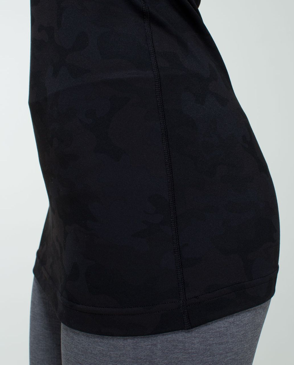 Lululemon Cool Racerback - Savasana Camo 20cm New Black