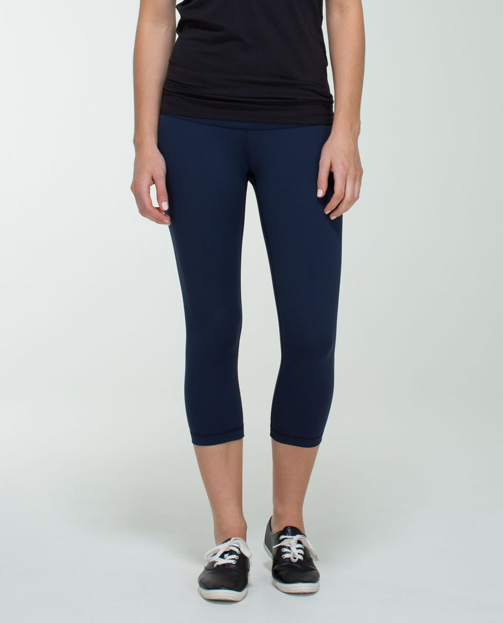 Lululemon Wunder Under Crop *Full-On Luxtreme - Inkwell