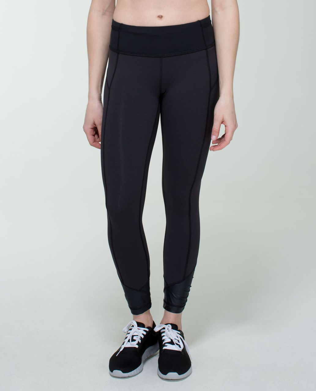 Lululemon Pace Queen Tight - Wee Stripe Black / Black