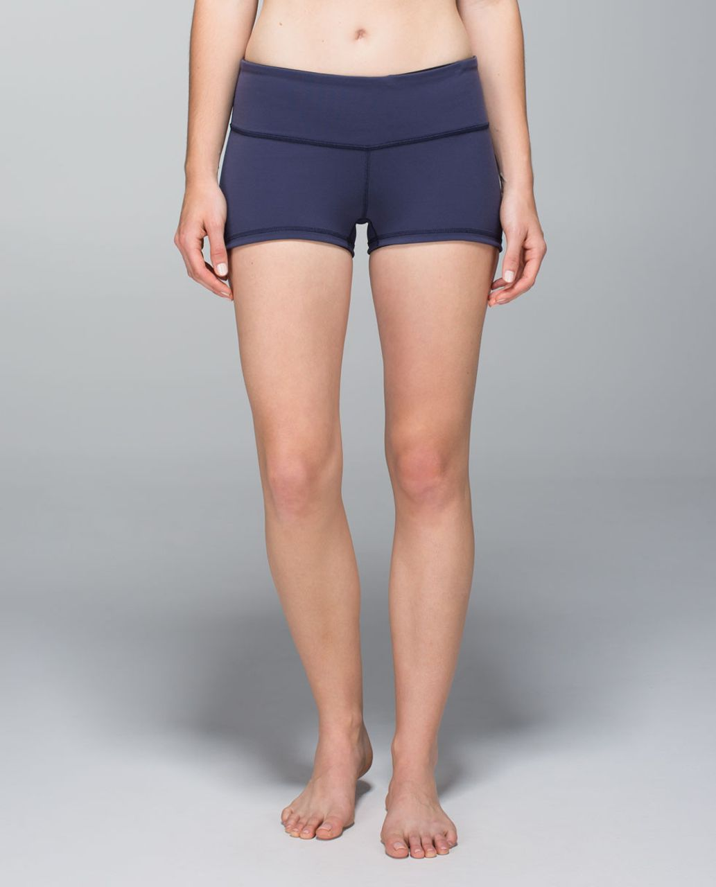 Lululemon Boogie Short - Cadet Blue / Black