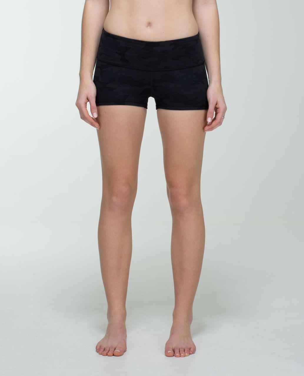 Lululemon Boogie Short - Savasana Camo 20cm New Black / Soot / Black