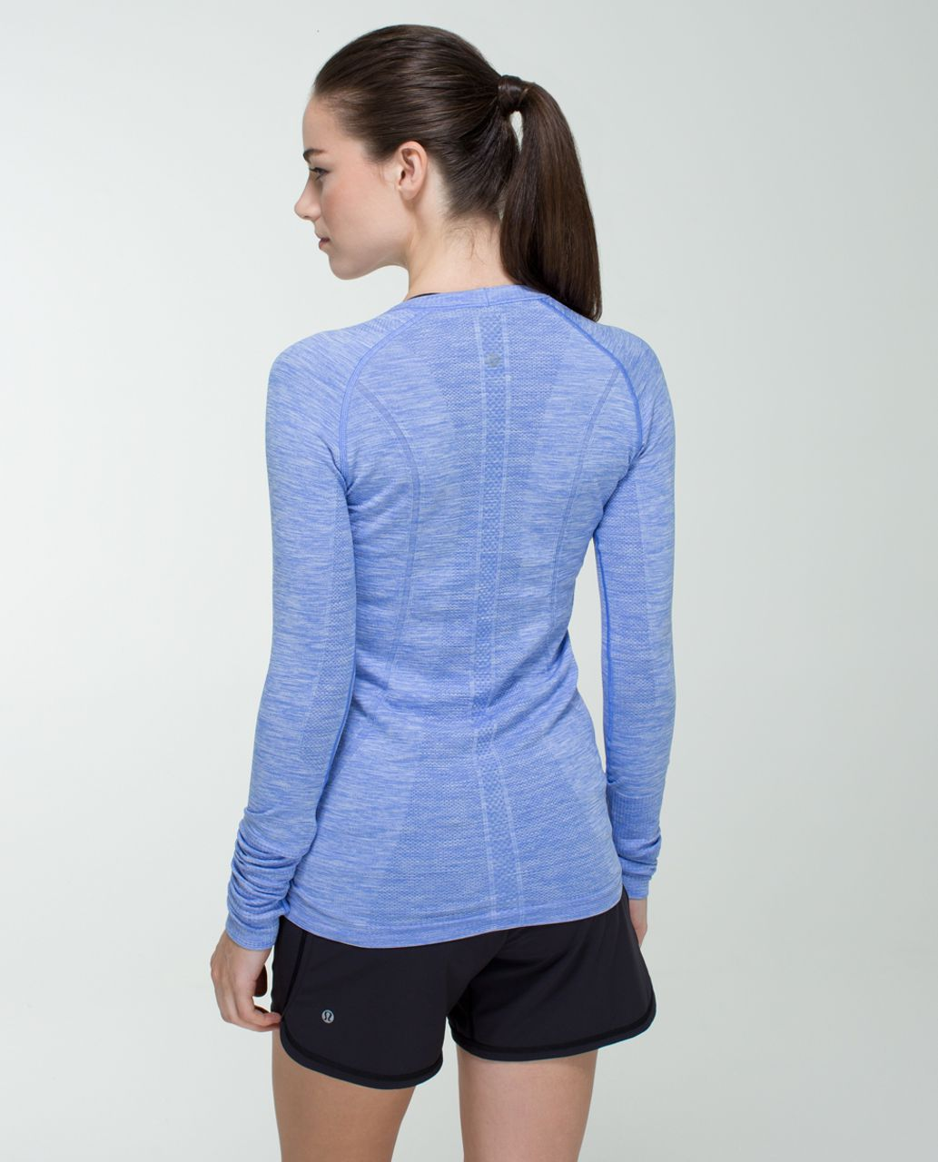 88d3e9720b8b3 Lululemon Run  Swiftly Tech Long Sleeve - Heathered Lullaby - lulu fanatics