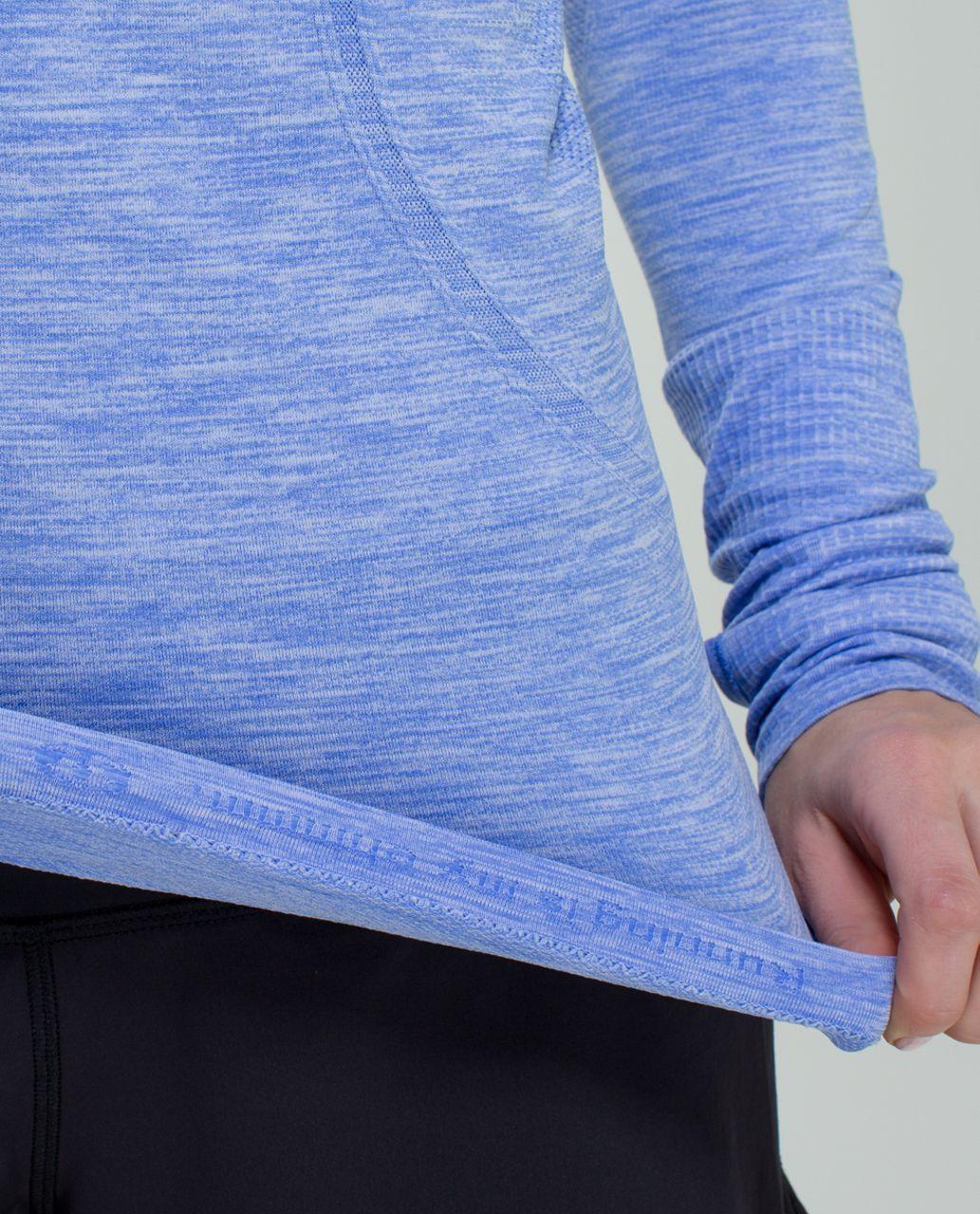 Lululemon Run:  Swiftly Tech Long Sleeve - Heathered Lullaby