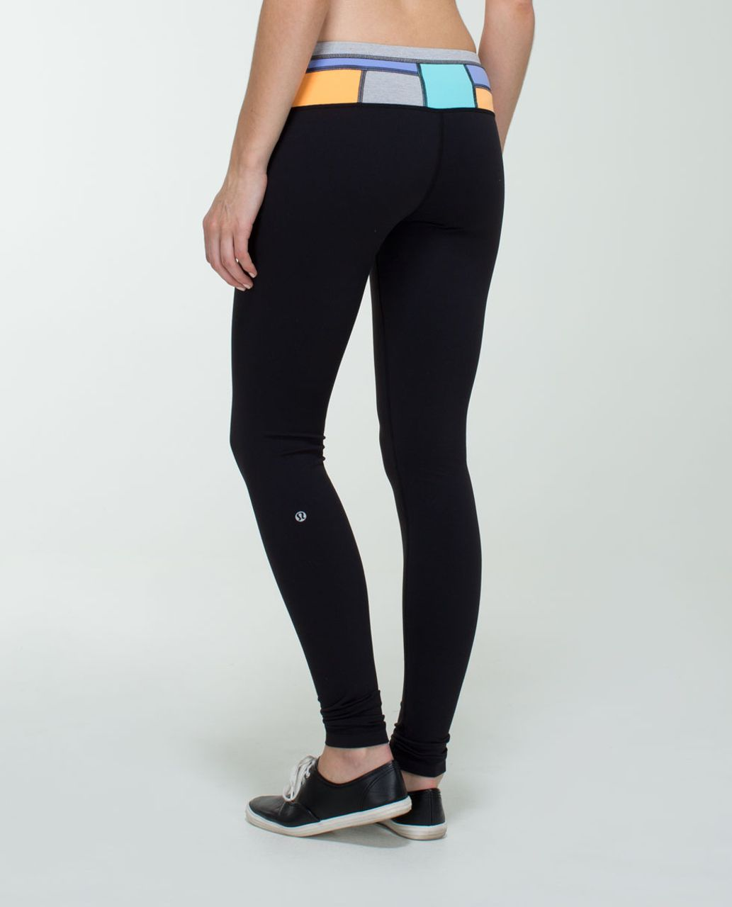 Lululemon Wunder Under Pant *Full-On Luon - Black / Quilt Spring 14-09