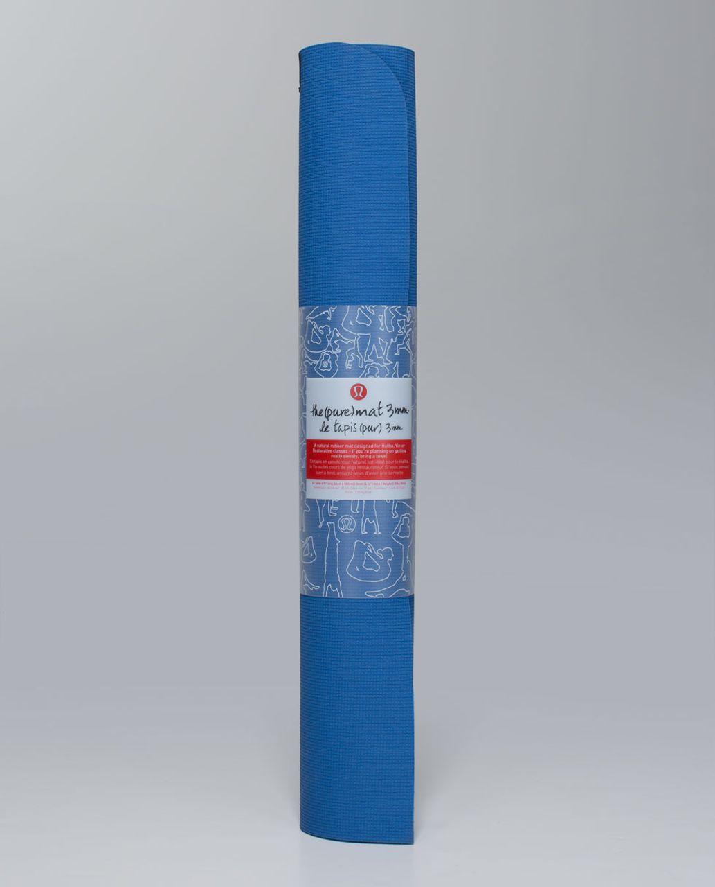Lululemon The Pure Mat 3mm - Lakeside Blue