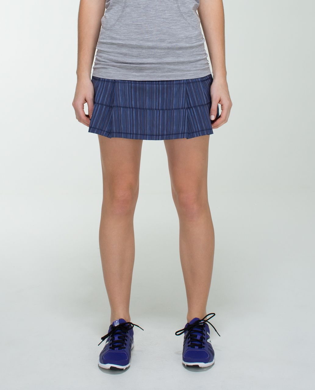 Lululemon Pace Rival Skirt (Regular) *2-way Stretch - Wee Are From Space Cadet Blue / Cadet Blue