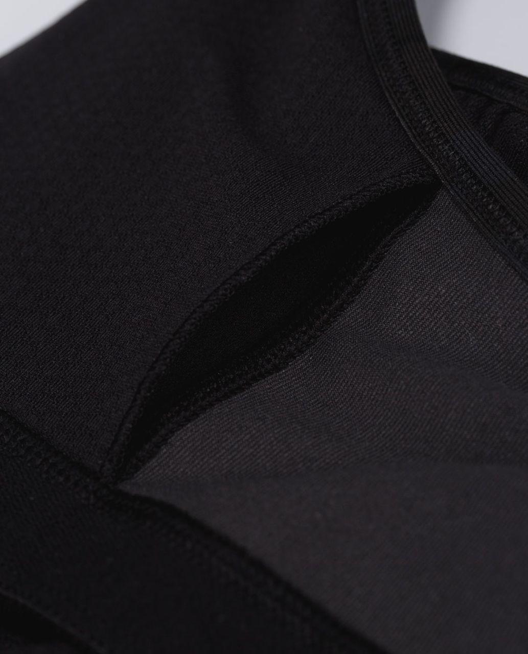 Lululemon No Limits Tank - Black / Savasana Camo 20cm New Black