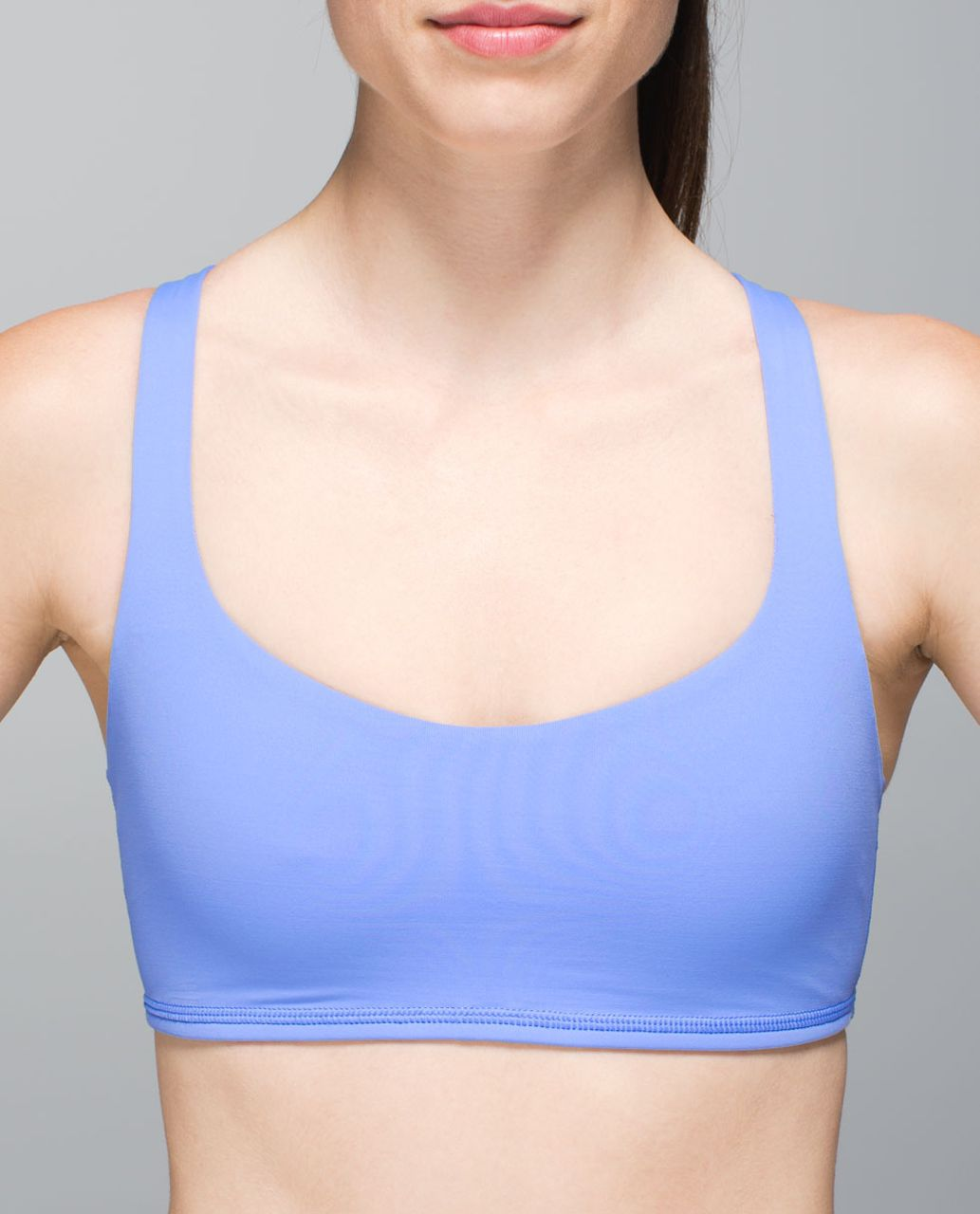 Lululemon Free To Be Bra - Lullaby / Tonka Stripe Lullaby Cadet Blue