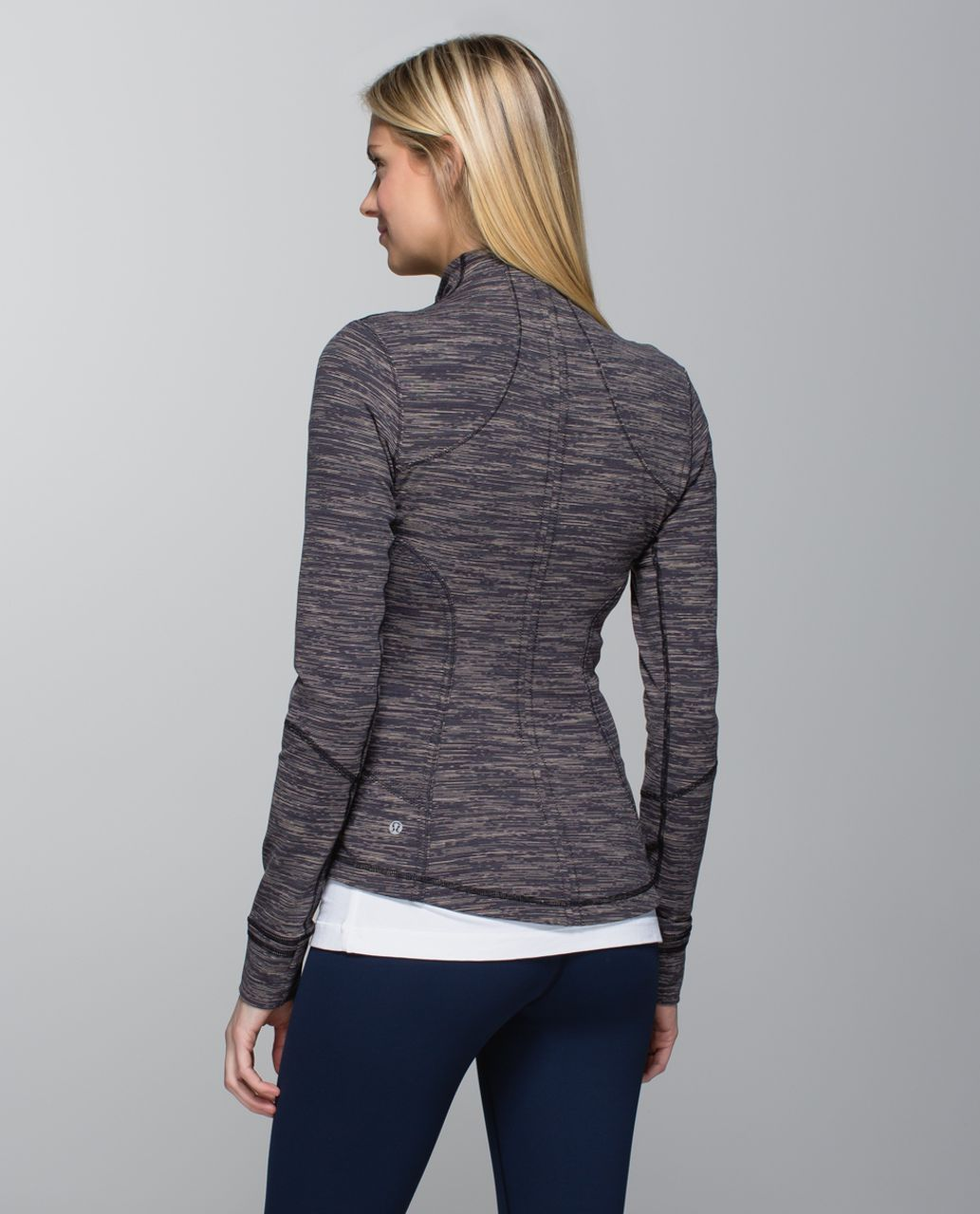 Lululemon Forme Jacket *Cuffins - Wee Are From Space Black Cashew