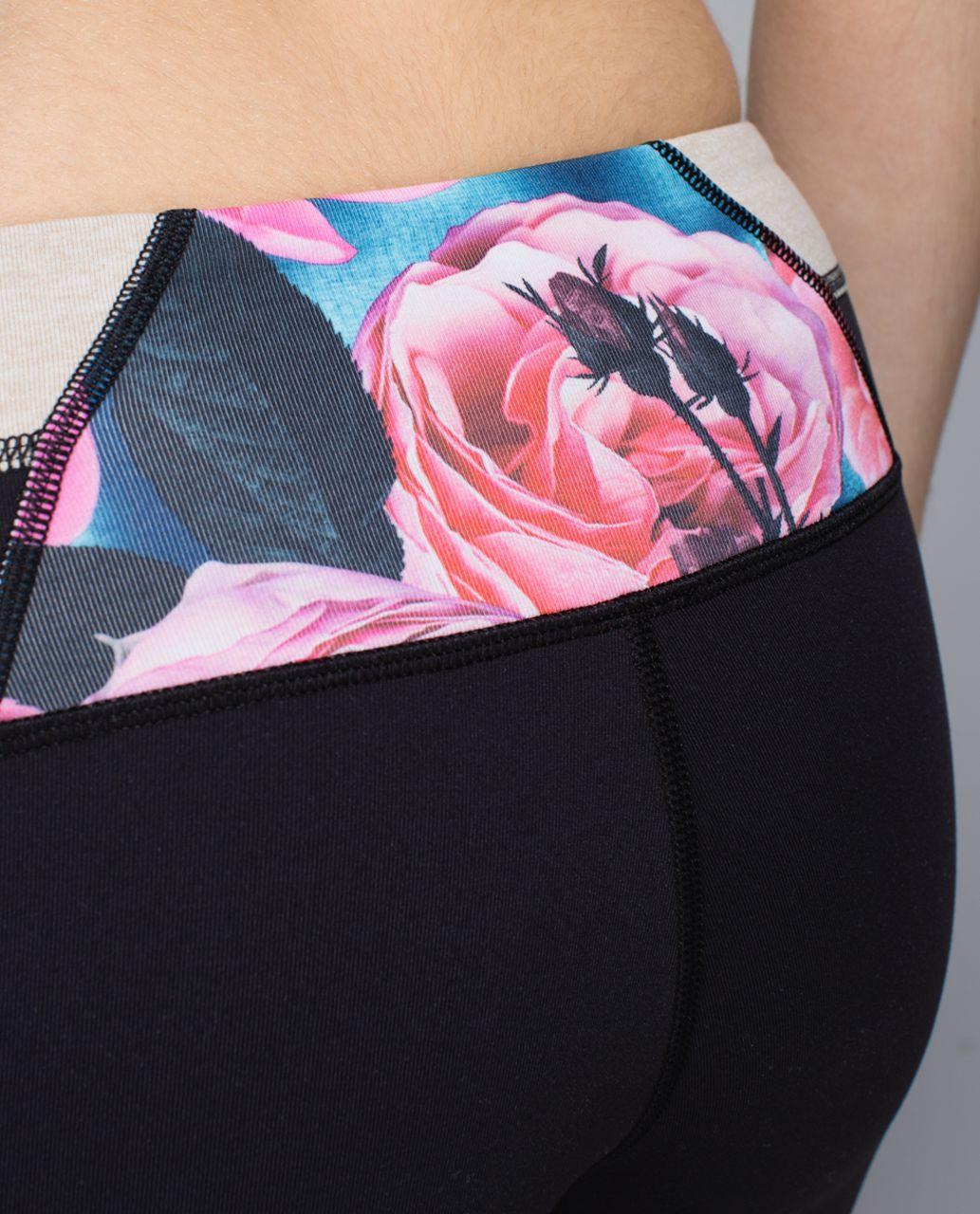 Lululemon Wunder Under Pant *Full-On Luon - Black / Quilt Spring 14-20