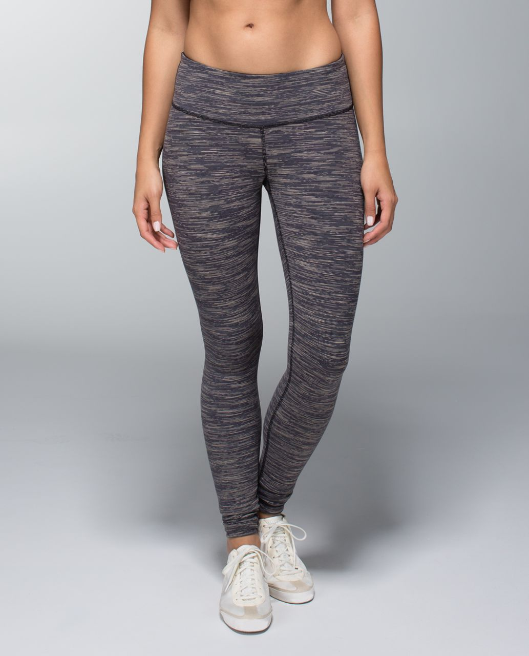 Lululemon Wunder Under Pant - Wee Are From Space Black Cashew / Black