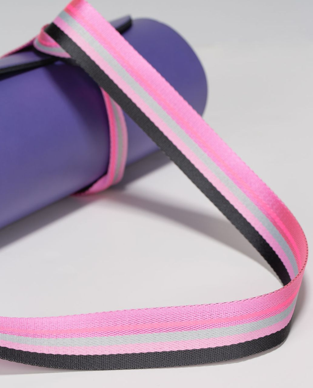Lululemon Loop It Up Mat Strap - Soot / Vintage Pink / Silver Spoon / Vintage Pink / Zing Pink Light