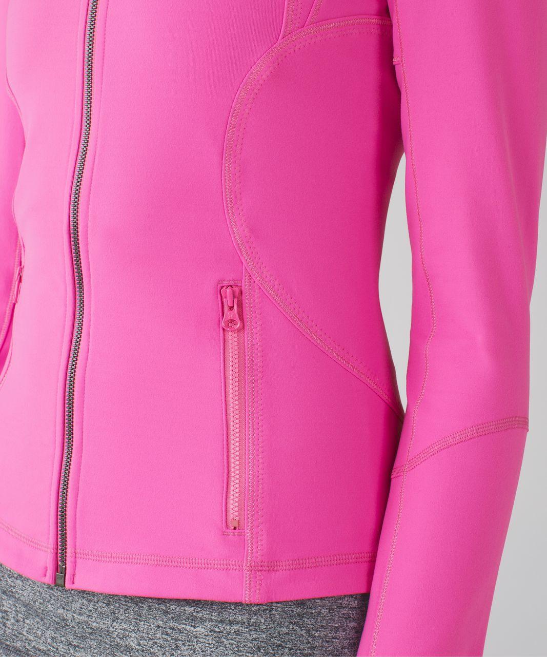 Lululemon Forme Jacket *Cuffins - Pow Pink Light
