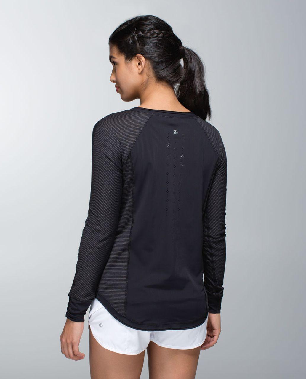 Lululemon Lightened Up Long Sleeve - Black