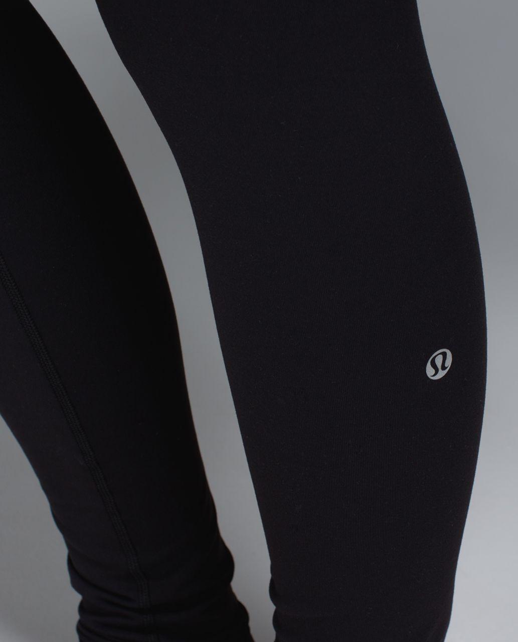 Lululemon Wunder Under Pant *Full-On Luon - Black / Quilt Spring 14-14