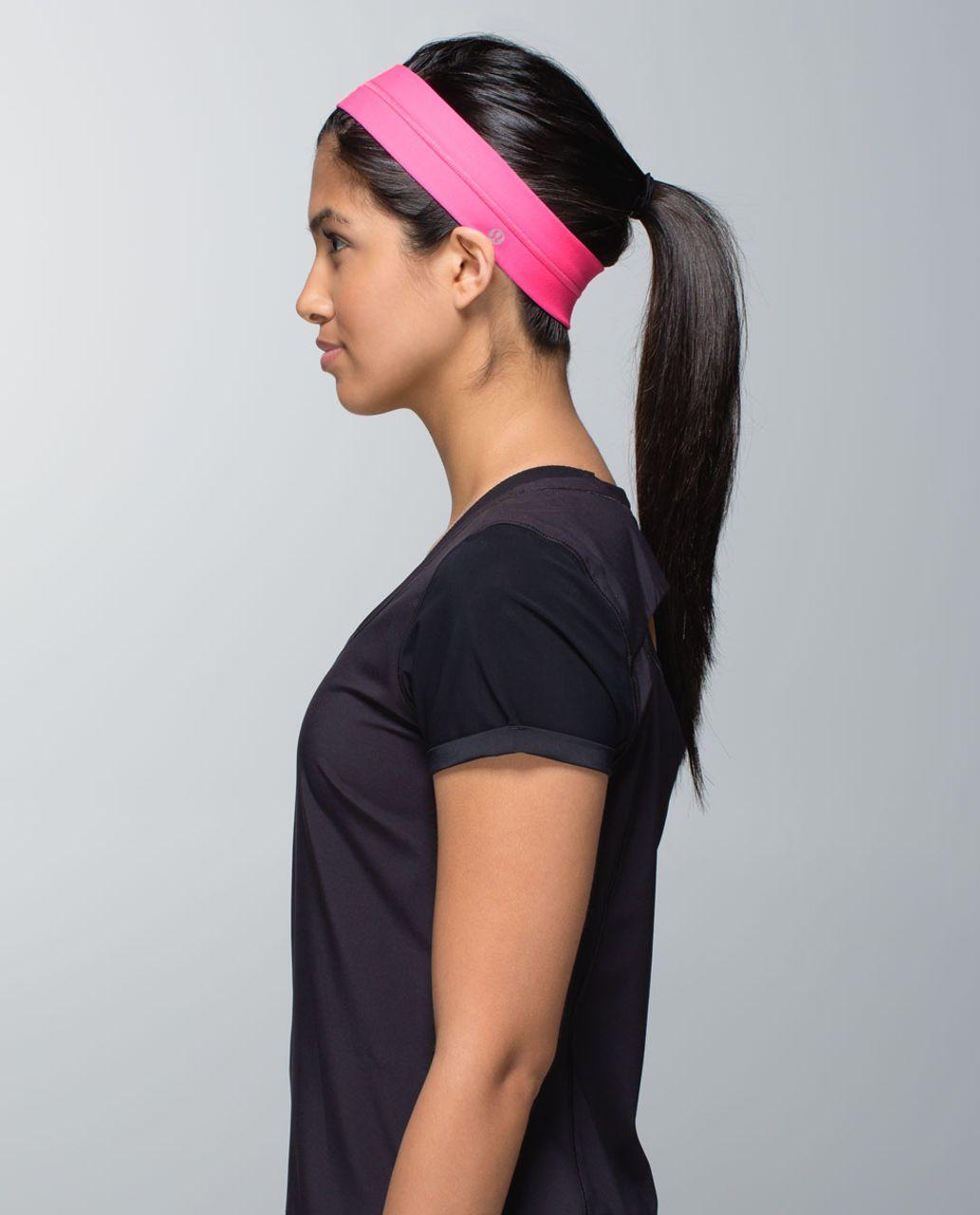 Lululemon Fly Away Tamer Headband - Pow Pink Light