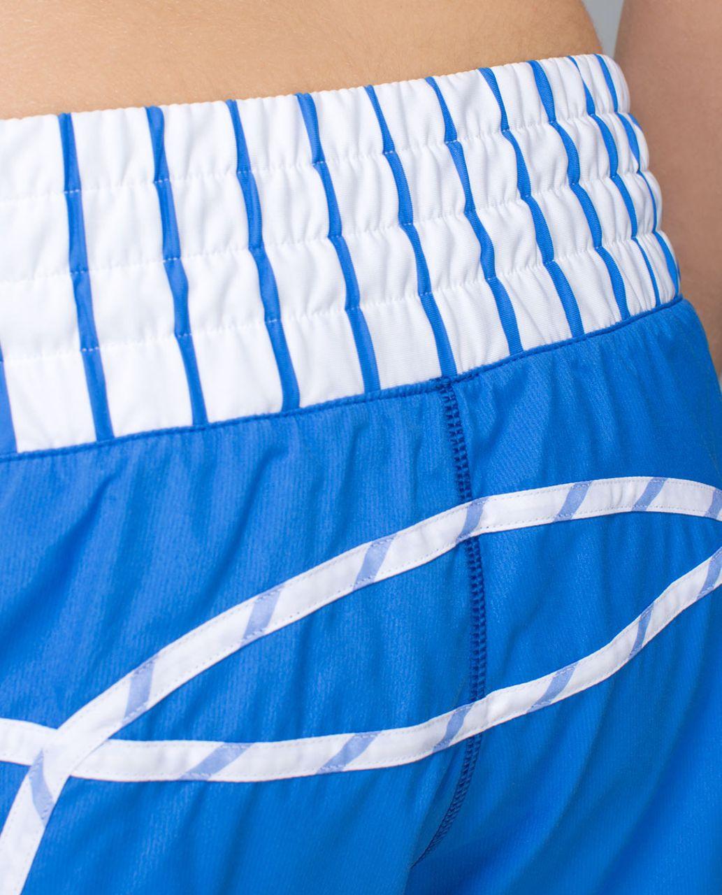 Lululemon Tracker Short II *2-way Stretch - Pipe Dream Blue / Deauville Stripe Pipe Dream Blue White