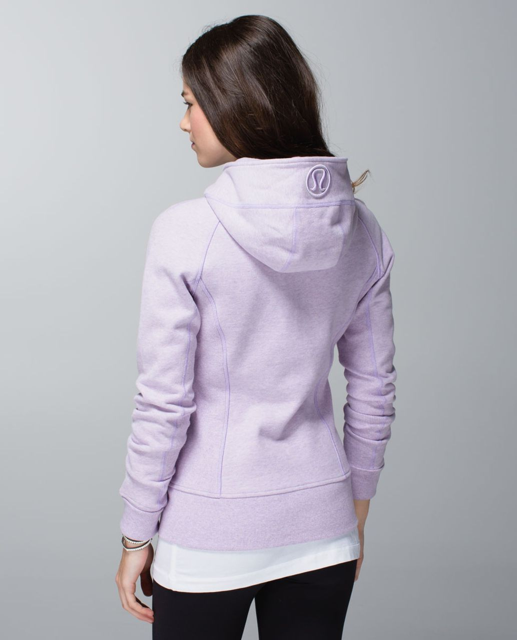 Lululemon Scuba Hoodie II - Heathered Pretty Purple / Pretty Purple