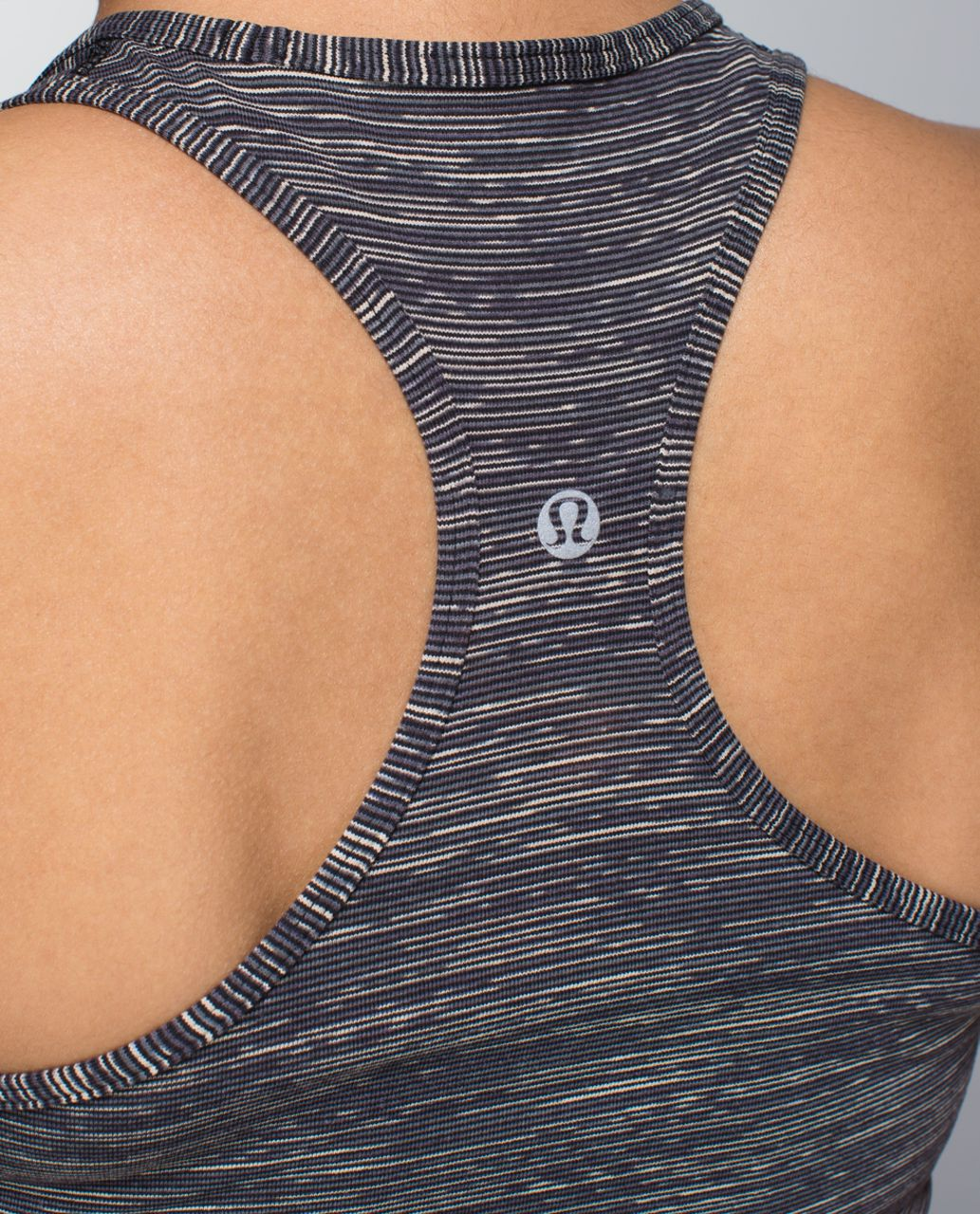 Lululemon Cool Racerback - Wee Are From Space Black Cashew