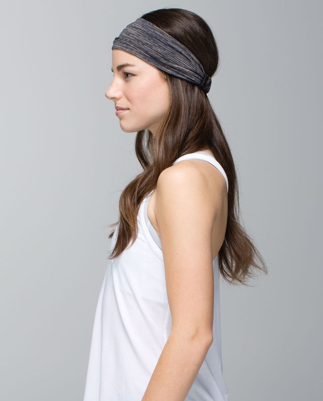 8e66c216b8 Lululemon Bang Buster Headband *Reversible - Wee Are From Space Black  Cashew / Black - lulu fanatics