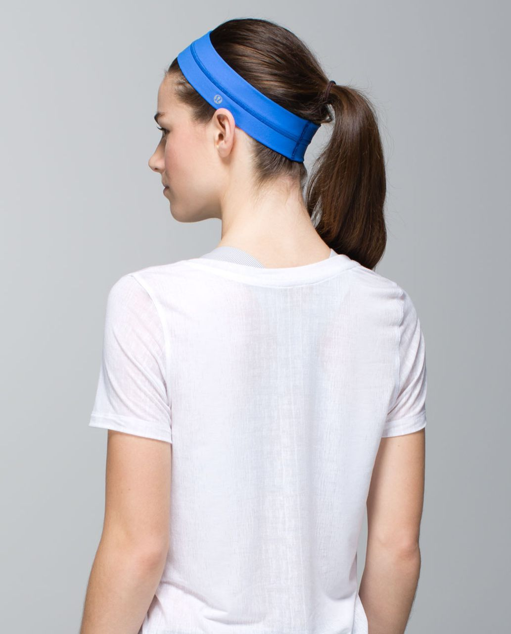 Lululemon Fly Away Tamer Headband - Pipe Dream Blue
