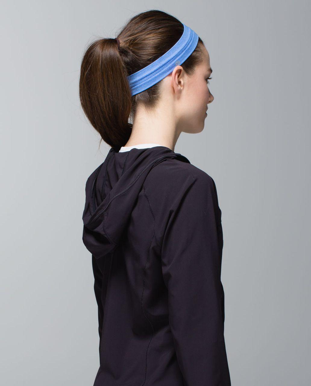 Lululemon Swiftly Headband - Heathered Pipe Dream Blue