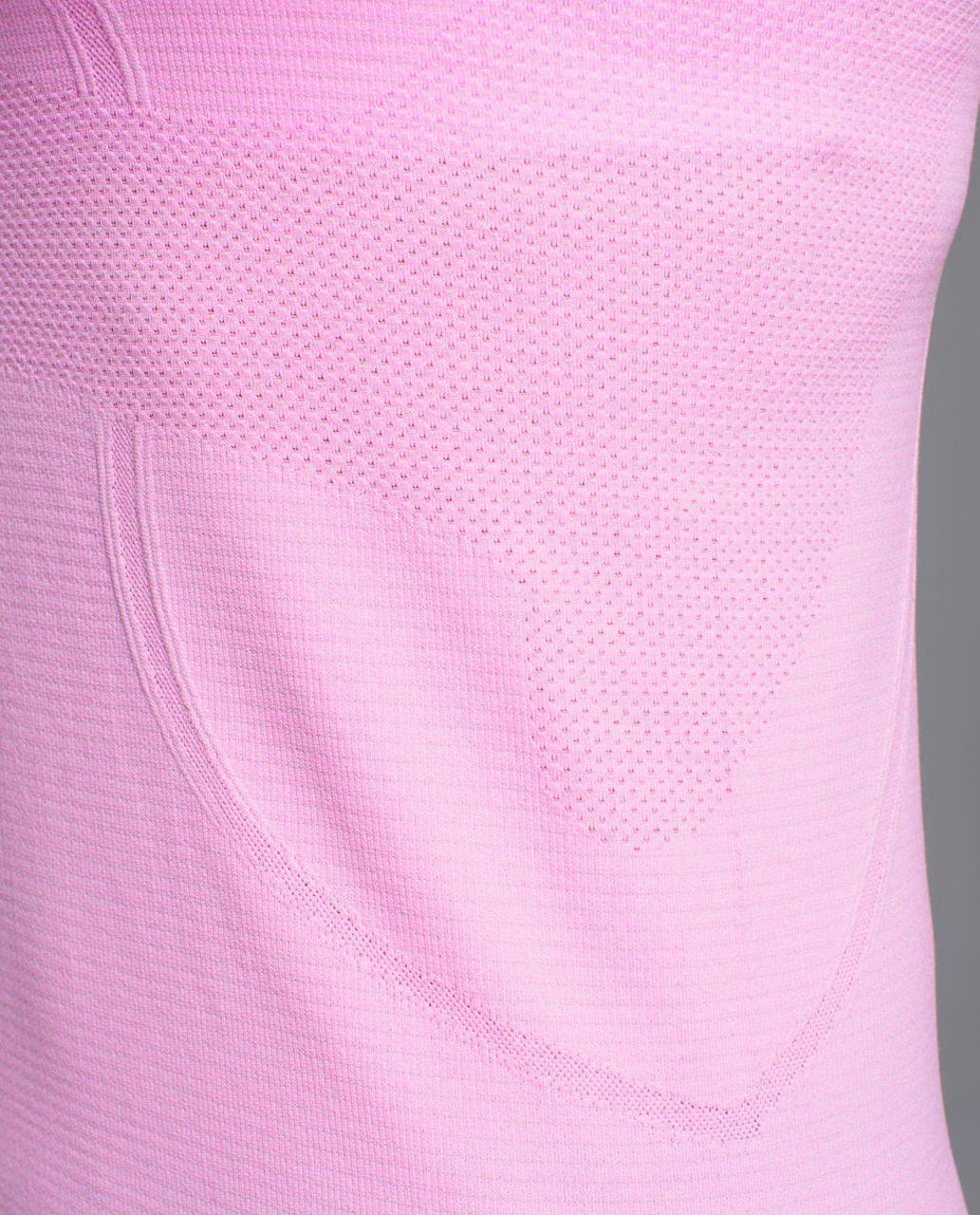 Lululemon Run:  Swiftly Tech Racerback - Heathered Vintage Pink