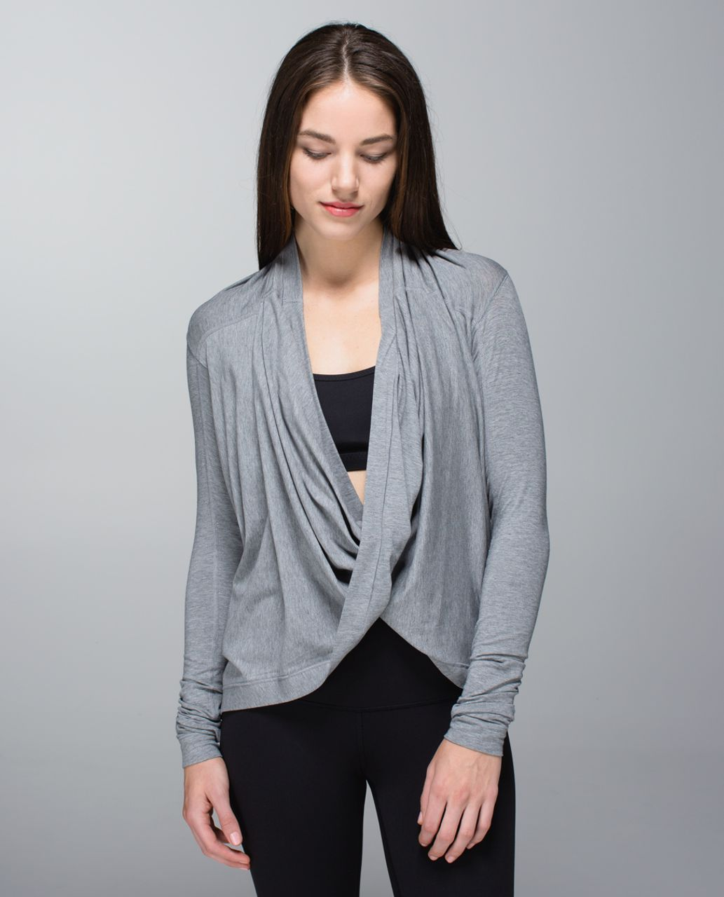 e75e3cb8ca Lululemon Iconic Wrap - Heathered Medium Grey - lulu fanatics