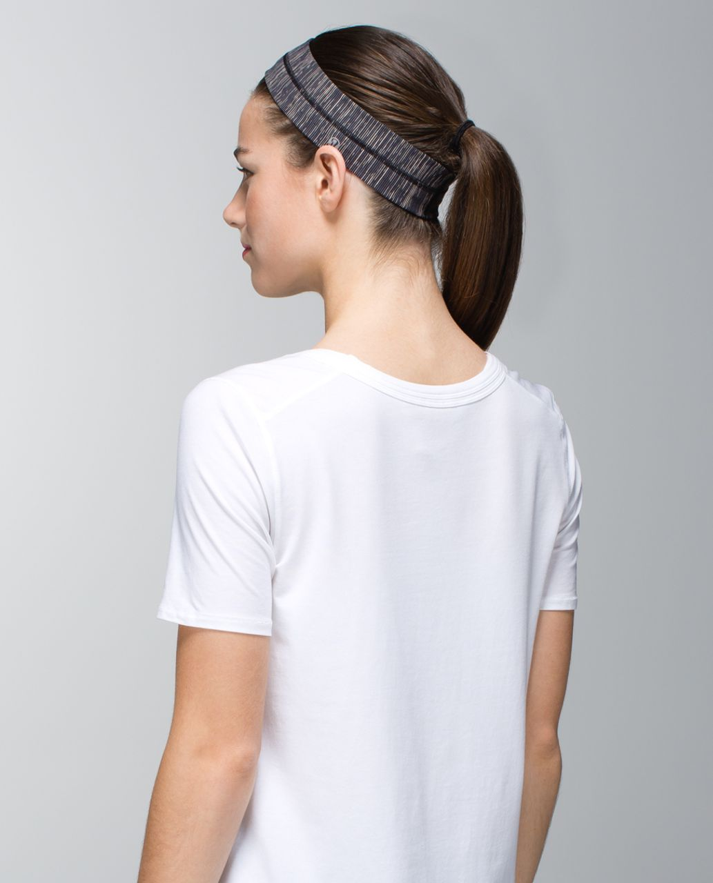 Lululemon Fly Away Tamer Headband - Wee Are From Space Black Cashew