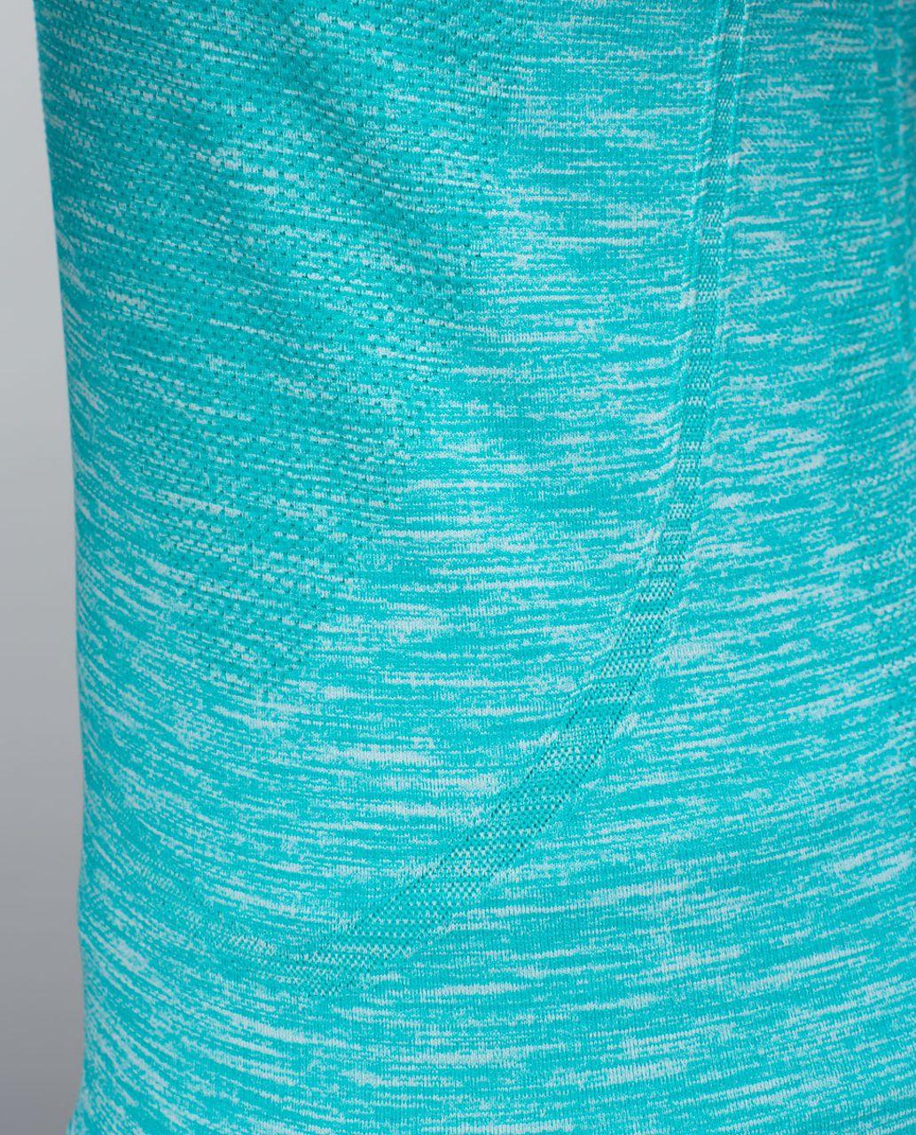 Lululemon Run:  Swiftly Tech Short Sleeve Scoop - Heathered Blue Tropics