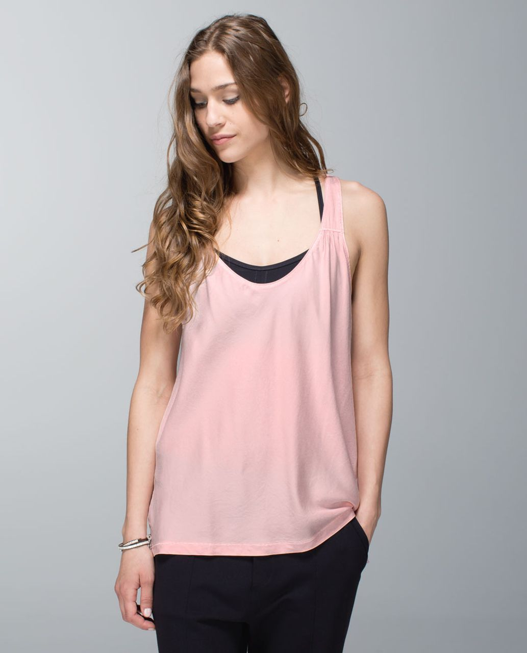 318dcc686483ef Lululemon Peace Of Mind Tank - Pretty Pink - lulu fanatics