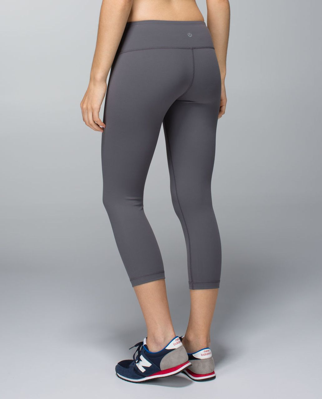 Lululemon Wunder Under Crop *Full-On Luon - Soot Light