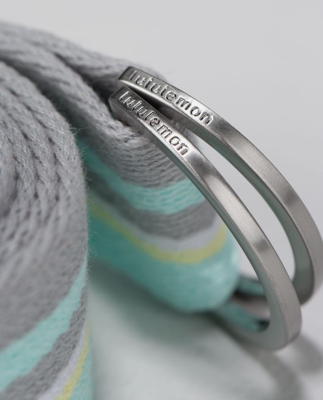 Lululemon No Limits Stretching Strap - Aqua / Zest / White / Silver Spoon / Aquamarine
