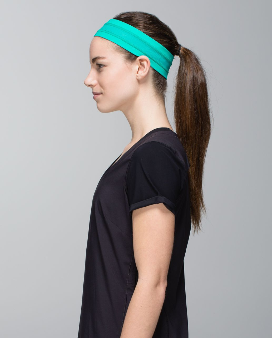 Lululemon Fly Away Tamer Headband *Mesh - Blue Tropics