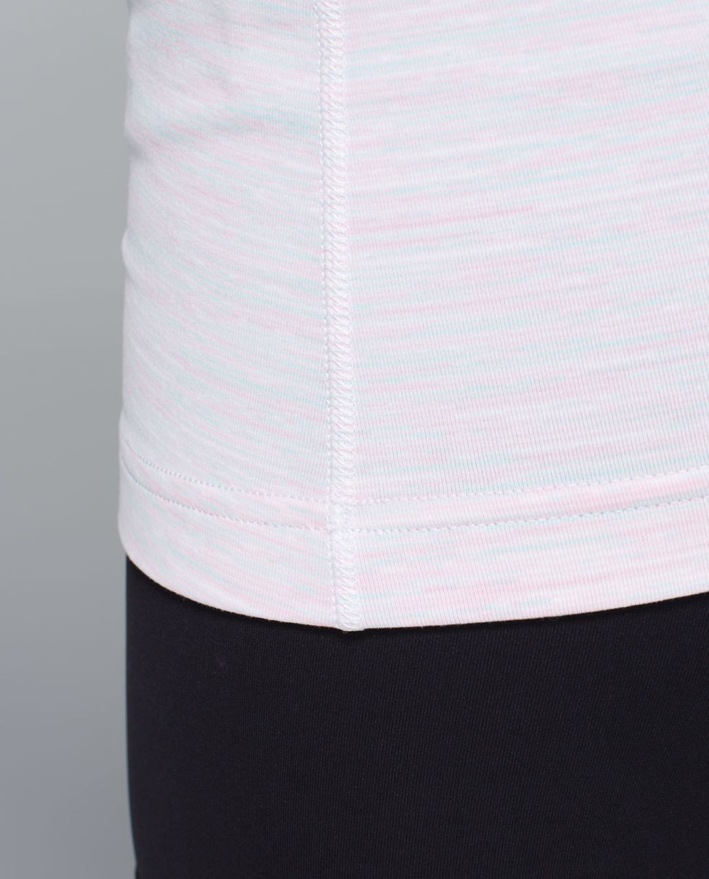 Lululemon Cool Racerback - Wee Are From Space White Barely Pink