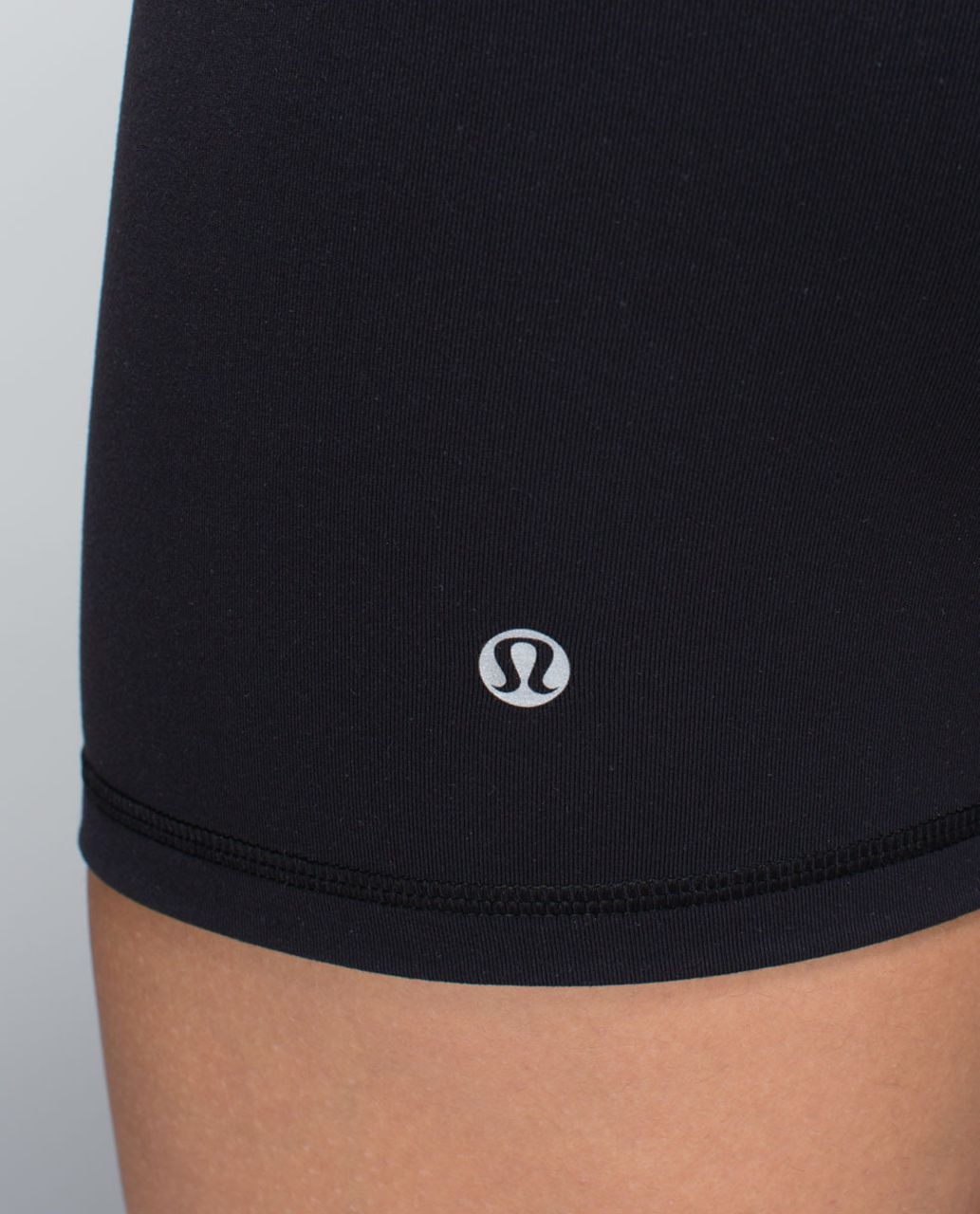 Lululemon Groove Short *Full-On Luon (Regular) - Black / Su14 Quilt 4