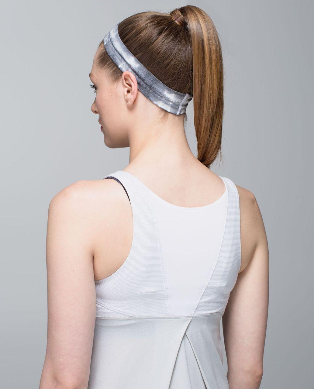 Lululemon Swiftly Headband *Print - Heathered Black