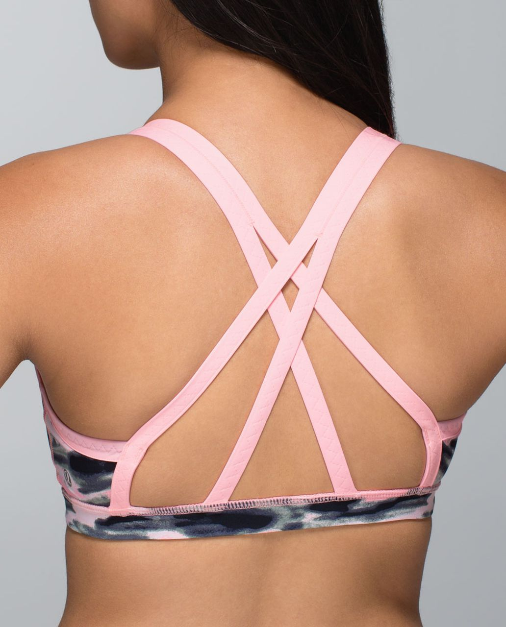 Lululemon Water Bound Bra - Wamo Camo Barely Pink / Bleached Coral