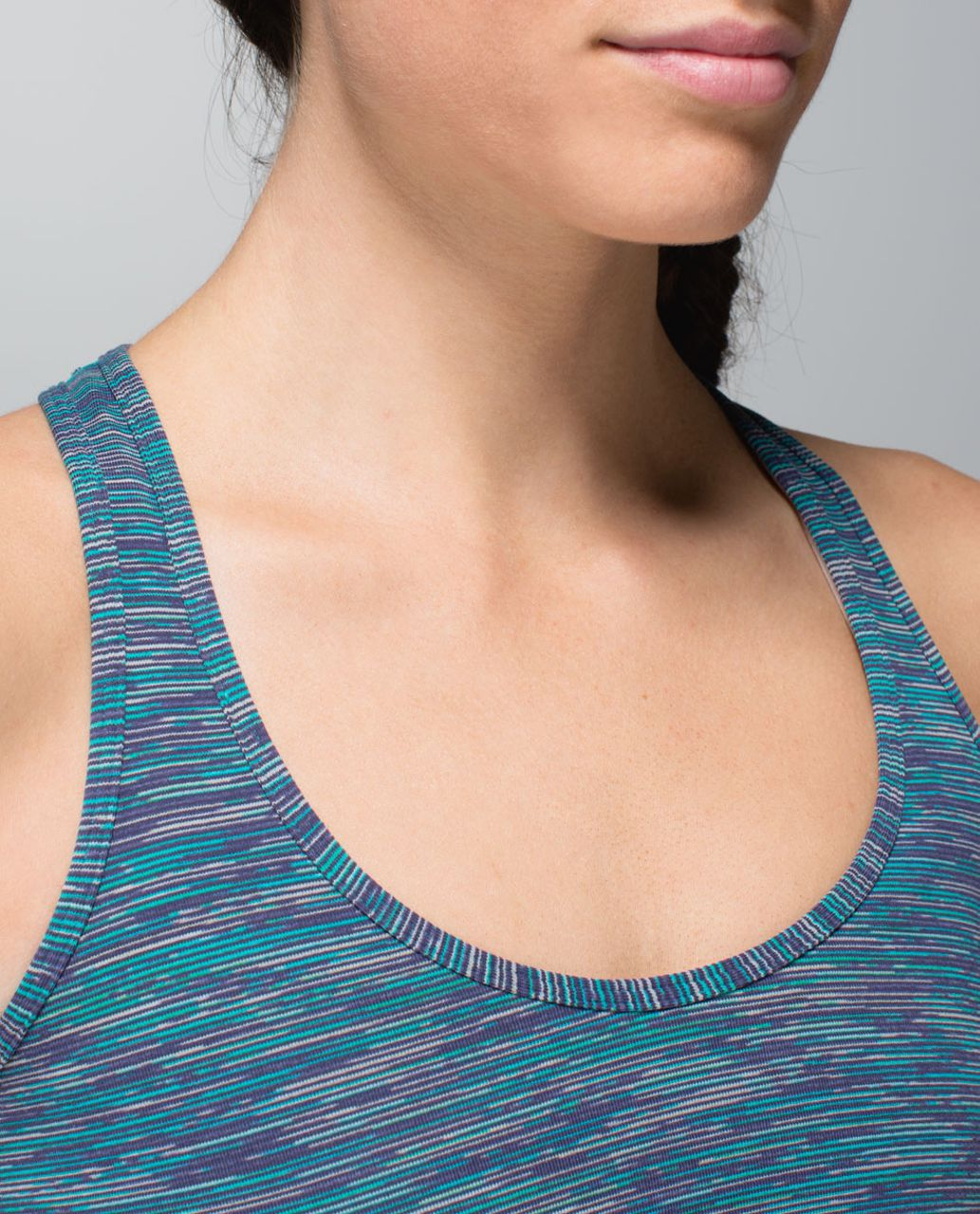 Lululemon Cool Racerback - Wee Are From Space Blue Tropics