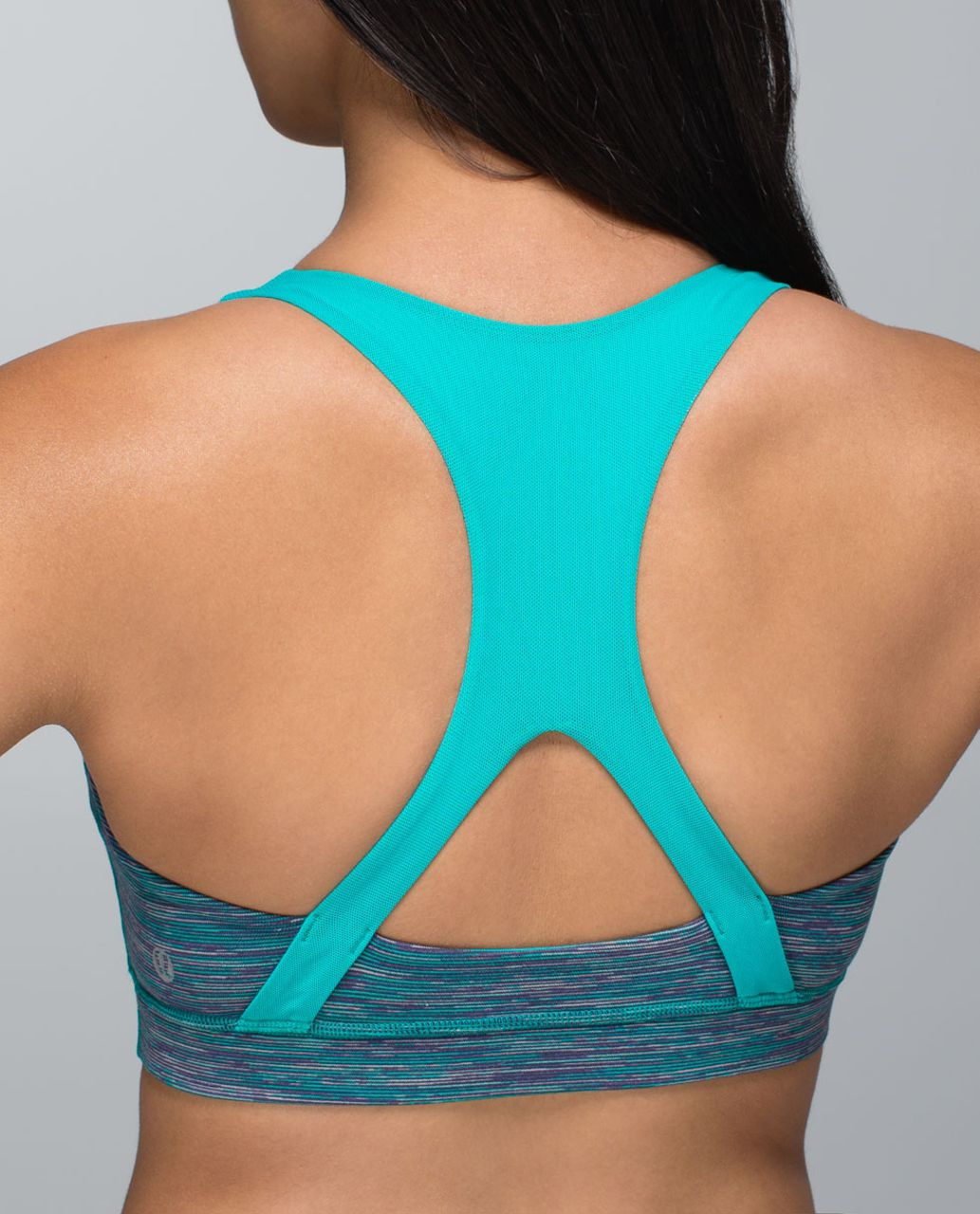 Lululemon 50 Rep Bra - Wee Are From Space Blue Tropics / Blue Tropics