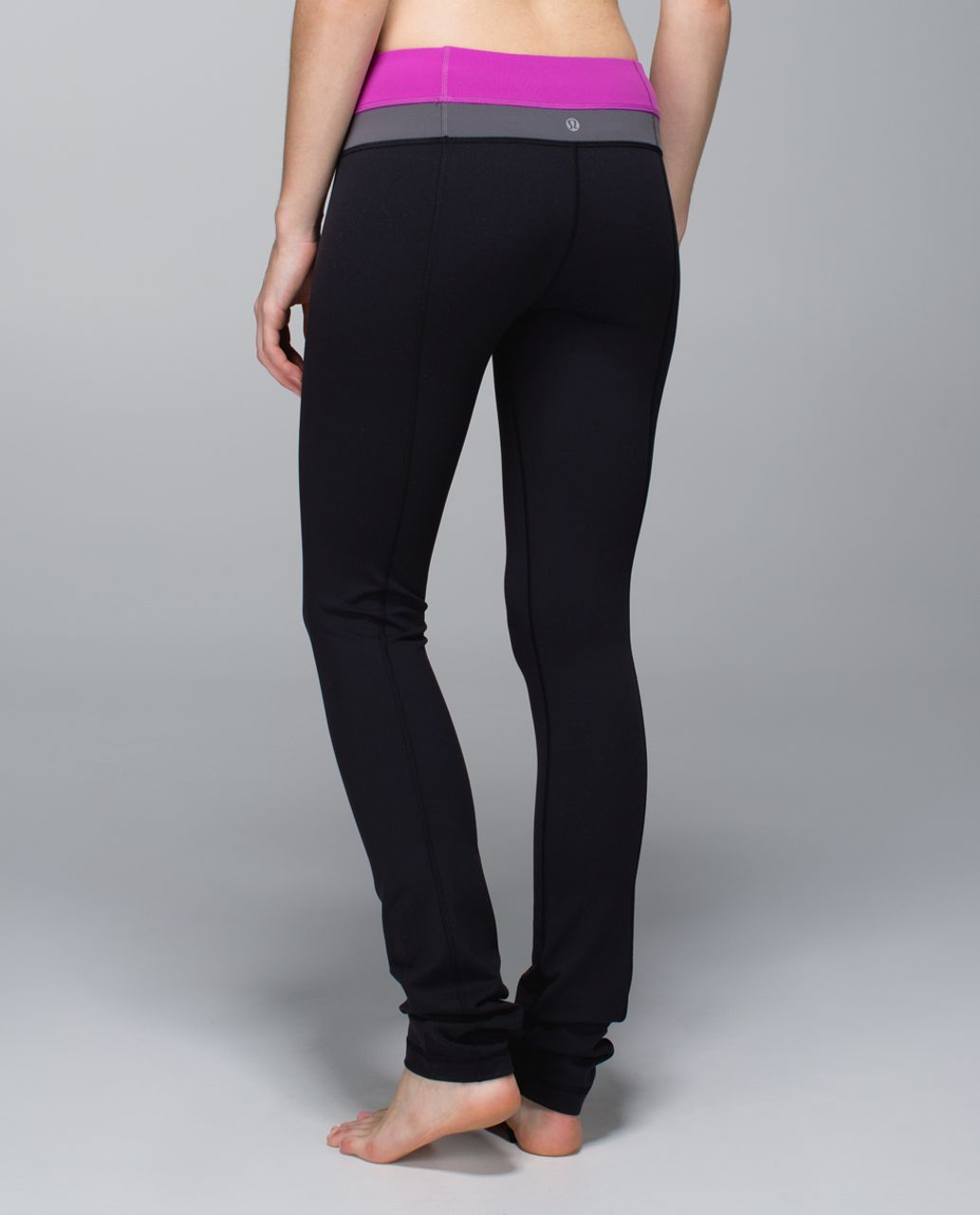 ffe211da1 Lululemon Skinny Groove Pant  Full-On Luon - Black   Ultra Violet   Soot  Light - lulu fanatics