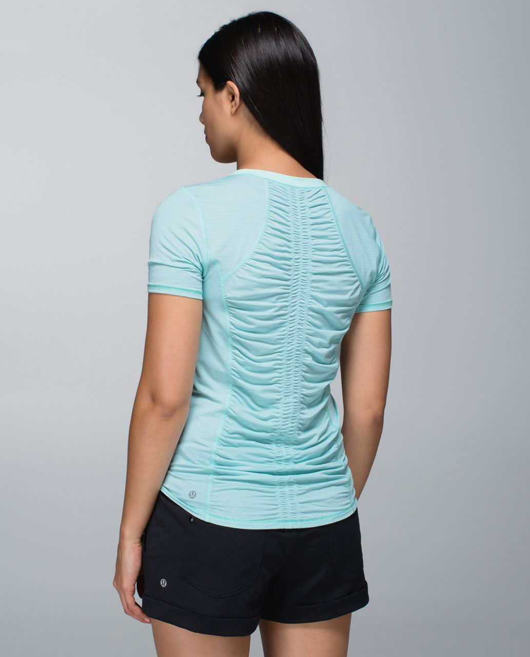 bc3d01ea95 Lululemon Runner Up Short Sleeve - Heathered Aquamarine   Aquamarine ...