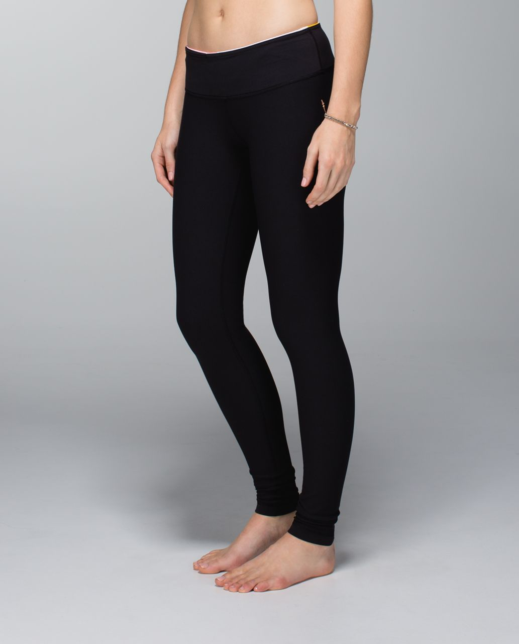 Lululemon Wunder Under Pant *Full-On Luon - Black / Su14 Quilt 1