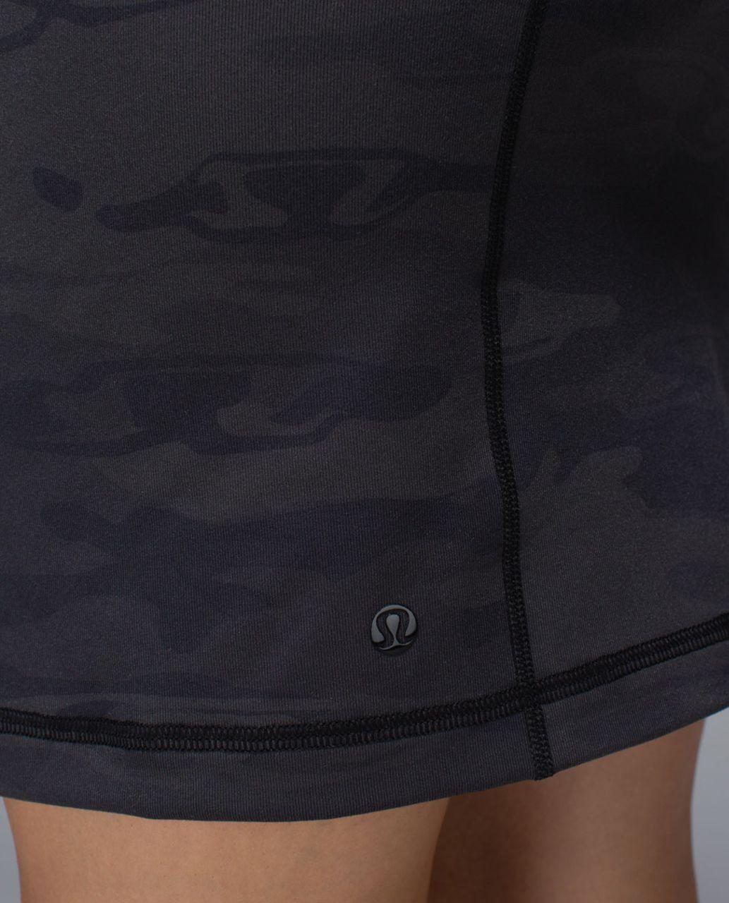 Lululemon Rocket Skirt - Black /  Retro Camo