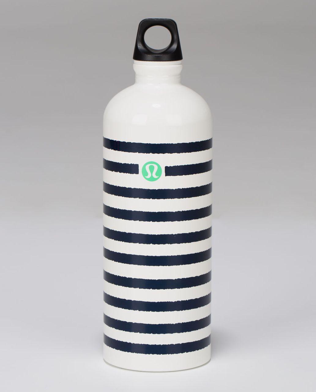 be2932e33f Lululemon Sigg 1l Water Bottle Yoga Is My Anchor Cadet Blue Lulu