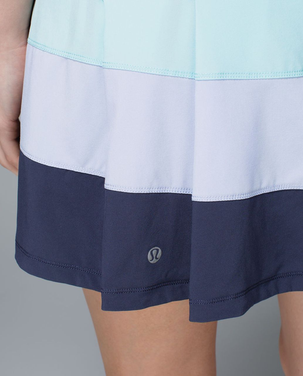 Lululemon Pace Rival Skirt *4-way Stretch (Tall) - Aquamarine / Cool Breeze / Cadet Blue